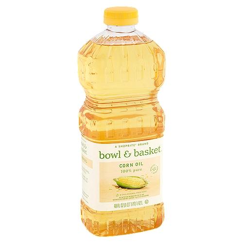 Bowl & Basket 100% Pure Corn Oil, 48 fl oz