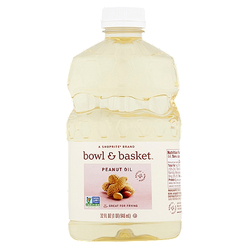 Bowl & Basket Peanut Oil, 32 fl oz