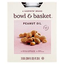 Bowl & Basket Peanut Oil, 3 Gallon