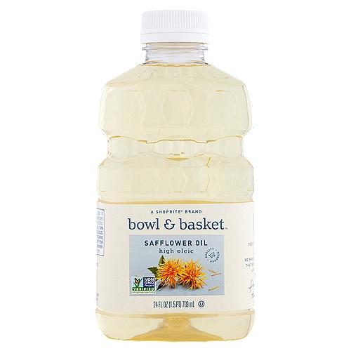 Bowl & Basket High Oleic Safflower Oil, 24 fl oz