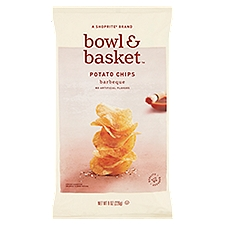Bowl & Basket Potato Chips Barbeque, 8 Ounce