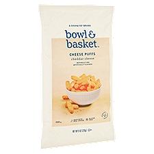 Bowl & Basket Cheese Puffs Cheddar Cheese, 8 Ounce