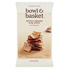 Bowl & Basket Pita Chips Multigrain Kettle Cooked, 18 Ounce