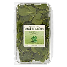 Bowl & Basket Baby Spinach, 16 Ounce