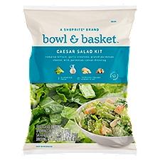 Bowl & Basket Caesar Salad Kit, 9.8 Ounce