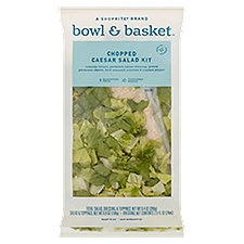 Bowl & Basket Caesar Salad Kit Chopped, 9.4 Ounce