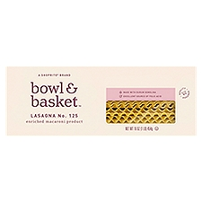Bowl & Basket Pasta Lasagna No. 125, 16 Ounce