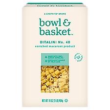 Bowl & Basket Pasta Ditalini No. 40, 16 Ounce