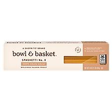 Bowl & Basket Pasta 100% Whole Wheat Spaghetti No. 8, 16 Ounce