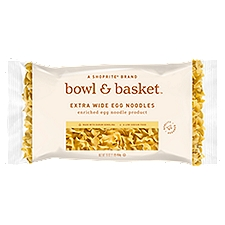 Bowl & Basket Egg Noodles Extra Wide, 16 Ounce