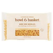 Bowl & Basket Egg Noodles Wide, 16 Ounce