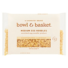 Bowl & Basket Egg Noodles Medium, 16 Ounce