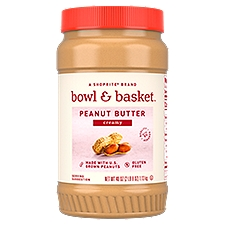 Bowl & Basket Creamy Peanut Butter, 40 oz, 40 Ounce