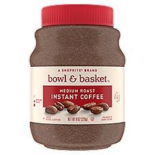 Bowl & Basket Instant Coffee Medium Roast, 8 Ounce