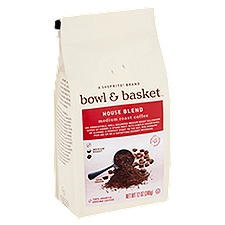 Bowl & Basket Coffee House Blend Medium Roast, 12 Ounce