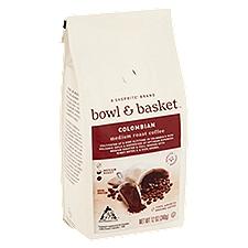 Bowl & Basket Coffee Colombian Medium Roast, 12 Ounce