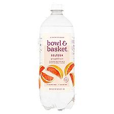 Bowl & Basket Seltzer Grapefruit, 33.8 Fluid ounce