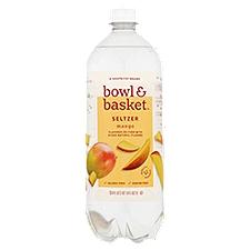 Bowl & Basket Seltzer Mango, 33.8 Fluid ounce