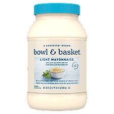 Bowl & Basket Mayonnaise Light, 30 Fluid ounce
