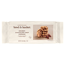 Bowl & Basket Cookies Chunky Chocolate Chip, 11.75 Ounce