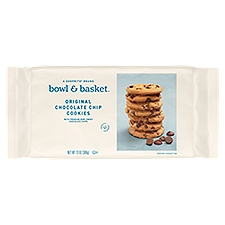 Bowl & Basket Cookies Original Chocolate Chip, 13 Ounce