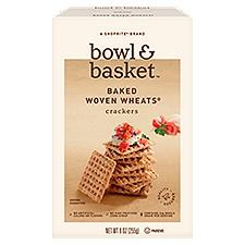 Bowl & Basket Crackers Baked Woven Wheats, 9 Ounce