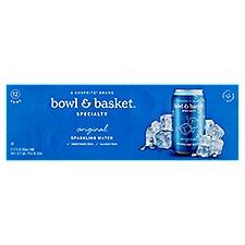 Bowl & Basket Specialty Sparkling Water Original, 144 Fluid ounce