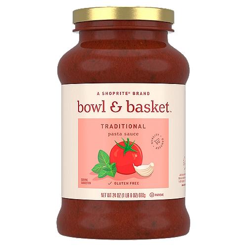 Bowl & Basket Traditional Pasta Sauce, 24 oz