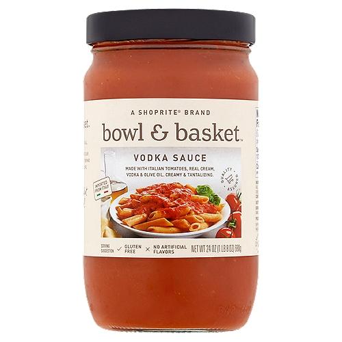 Bowl & Basket Vodka Sauce, 24 oz