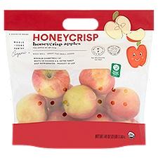 Wholesome Pantry Organic Apples, Honeycrisp, 3 Pound