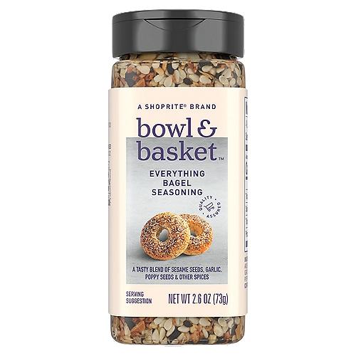 Bowl & Basket Everything Bagel Seasoning, 2.6 oz
