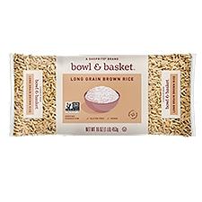Bowl & Basket Brown Rice, Long Grain, 1 Pound