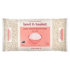 Bowl & Basket White Rice Enriched Long Grain, 5 Each