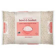Bowl & Basket White Rice Enriched Long Grain, 10 Each