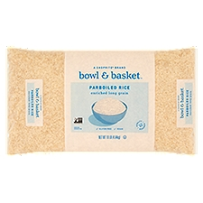 Bowl & Basket Parboiled Rice, Enriched Long Grain, 10 Pound