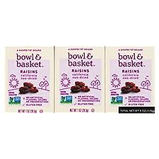 Bowl & Basket Raisins, California Sun-Dried, 6 Ounce