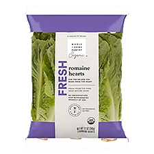 Wholesome Pantry Organic Romaine Hearts, Fresh, 12 Ounce