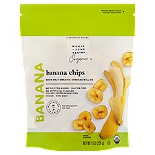 Wholesome Pantry Banana Chips, 8 Ounce