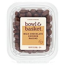 Bowl & Basket Raisins, Milk Chocolate Covered, 12 Ounce