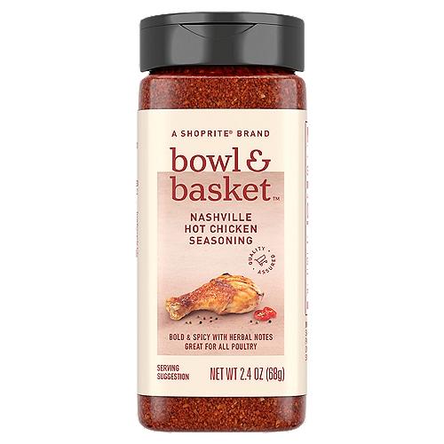 Bowl & Basket Nashville Hot Chicken Seasoning, 2.4 oz