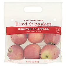 Bowl & Basket Apples, Honeycrisp, 32 Ounce
