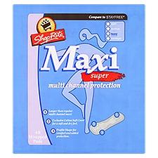 ShopRite Maxi Pads - Super - Heavy, 48 Each