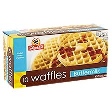 ShopRite Waffles - Buttermilk, 12.5 Ounce