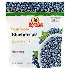 ShopRite Blueberries, 12 Ounce