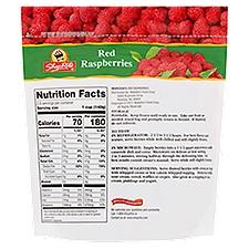 ShopRite Frozen Red Raspberries, 12 Ounce