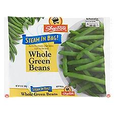 ShopRite Steam In Bag - Whole Green Beans, 12 Ounce
