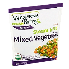 Wholesome Pantry Steam In Bag Mixed Vegetables, 12 Ounce