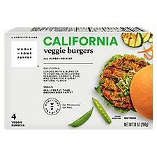 Wholesome Pantry California Veggie Burgers, 4 Each