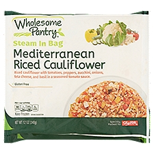 Wholesome Pantry Riced Cauliflower - Mediterranean, 12 Ounce