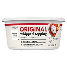 Wholesome Pantry Whipped Topping Original, 8 Ounce